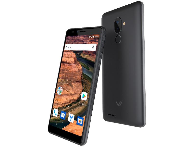 Сотовый телефон Vertex Impress Stone LTE Graphite