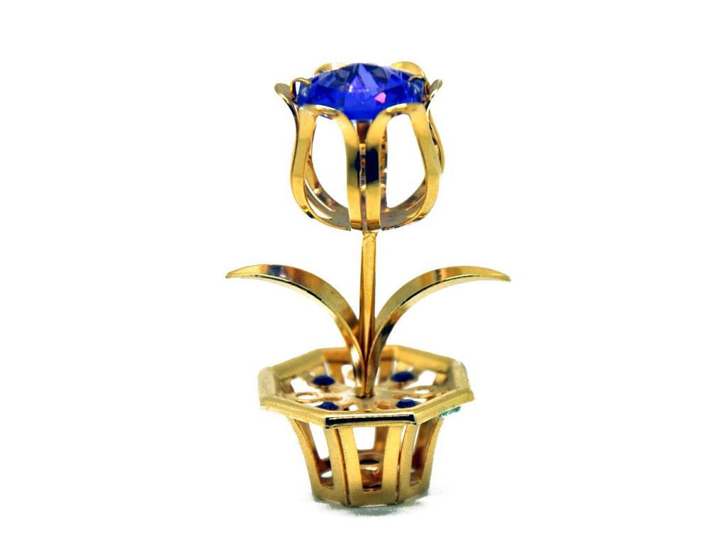Фигурка Crystocraft Цветок 166-001-GPU фигурка crystocraft цветок 243 001 gm1