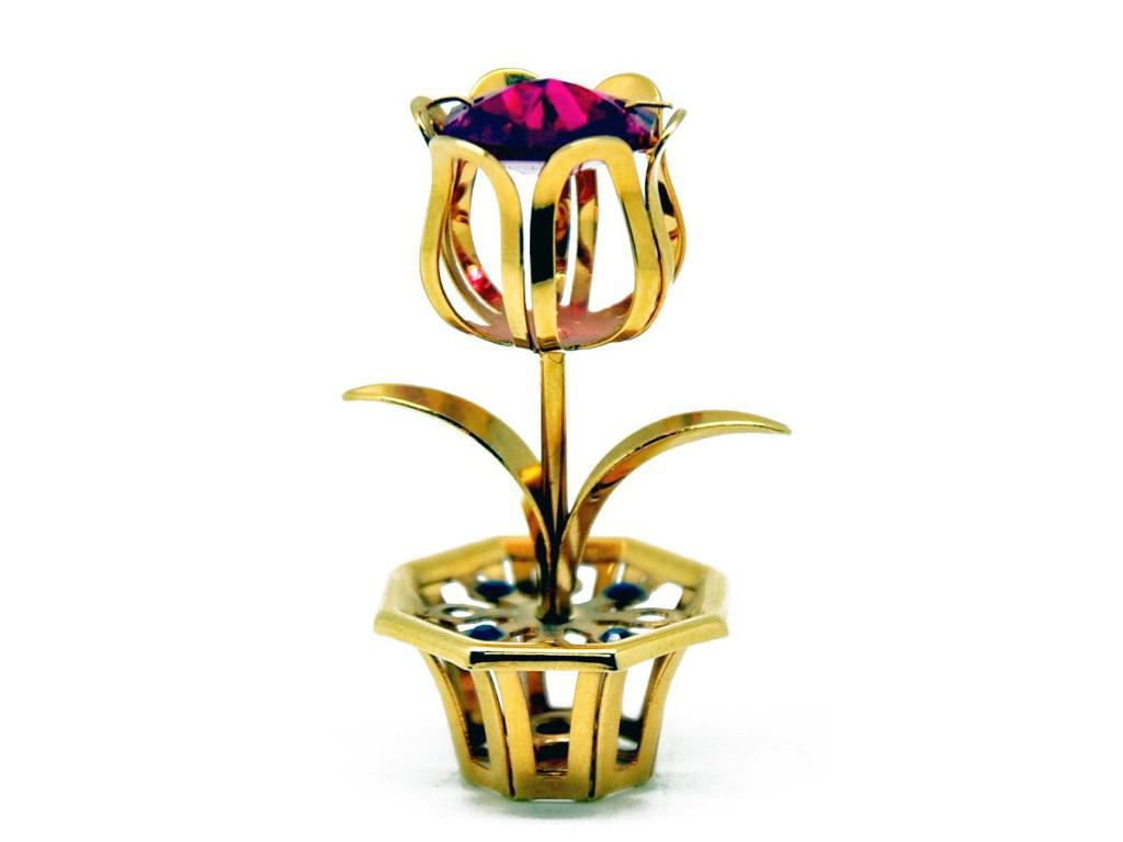 Фигурка Crystocraft Цветок 166-001-GRE фигурка crystocraft розочка 355 001 gre