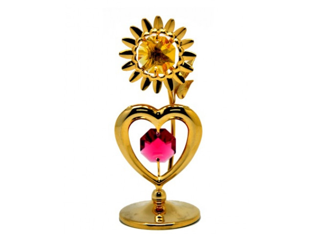 Фигурка Crystocraft Сердце с солнцем 174-001-GМХ фигурка crystocraft сердце с солнцем 174 001 gмх