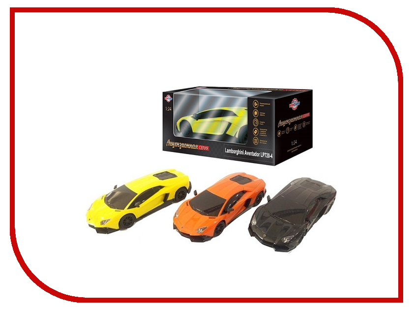 Игрушка Wincars Lamborghini Aventador LP720-4 1:24 DS-2009 машинка welly 1 24 lamborghini aventador 24033