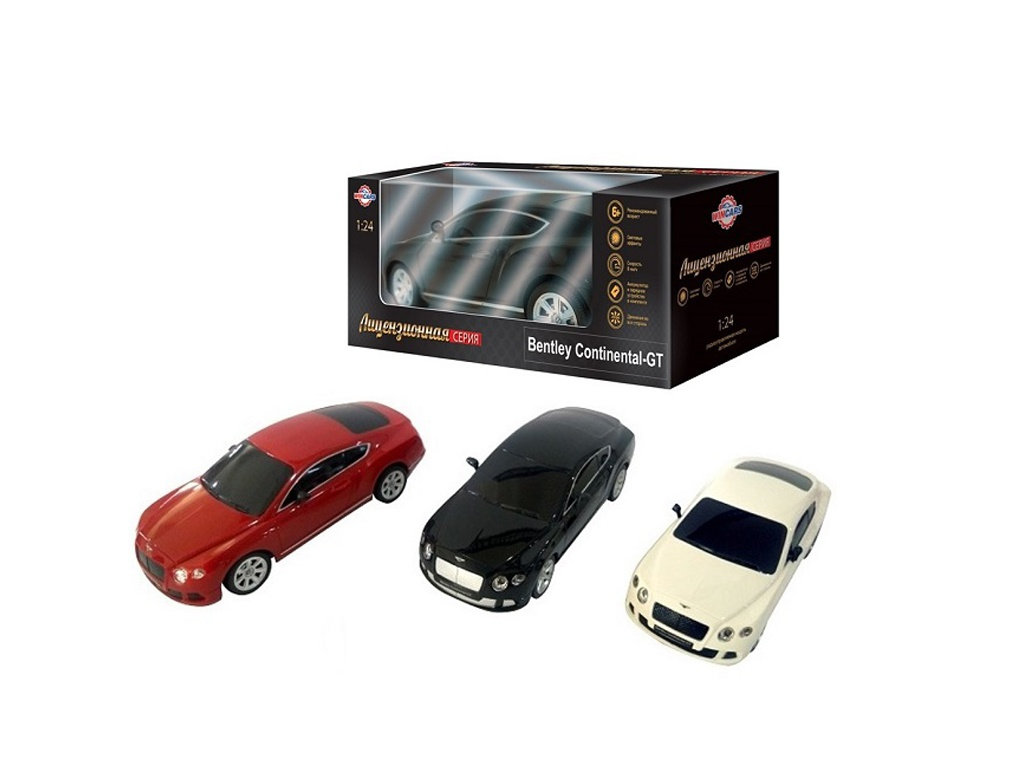 Игрушка Wincars Bentley Continental GT 1:24 DS-2013