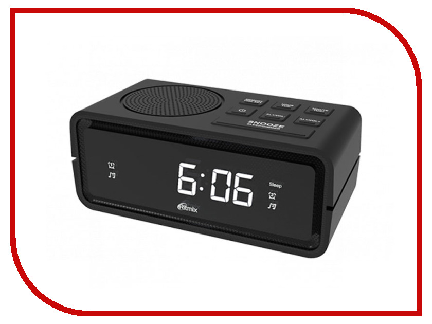 Часы Ritmix RRC-606 Black dial ydk 606