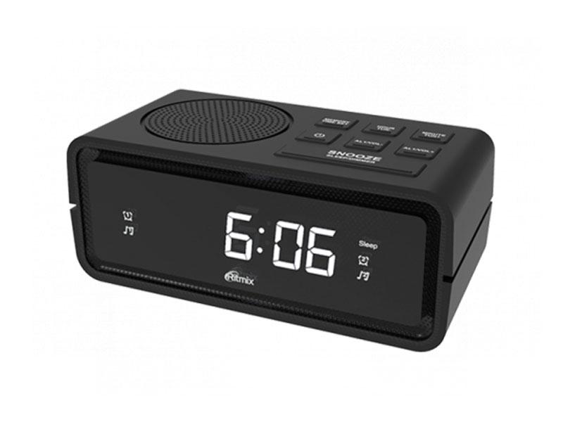 Часы Ritmix RRC-606 Black универсальный пульт ду для тв rolsen rrc 120 rrc 120