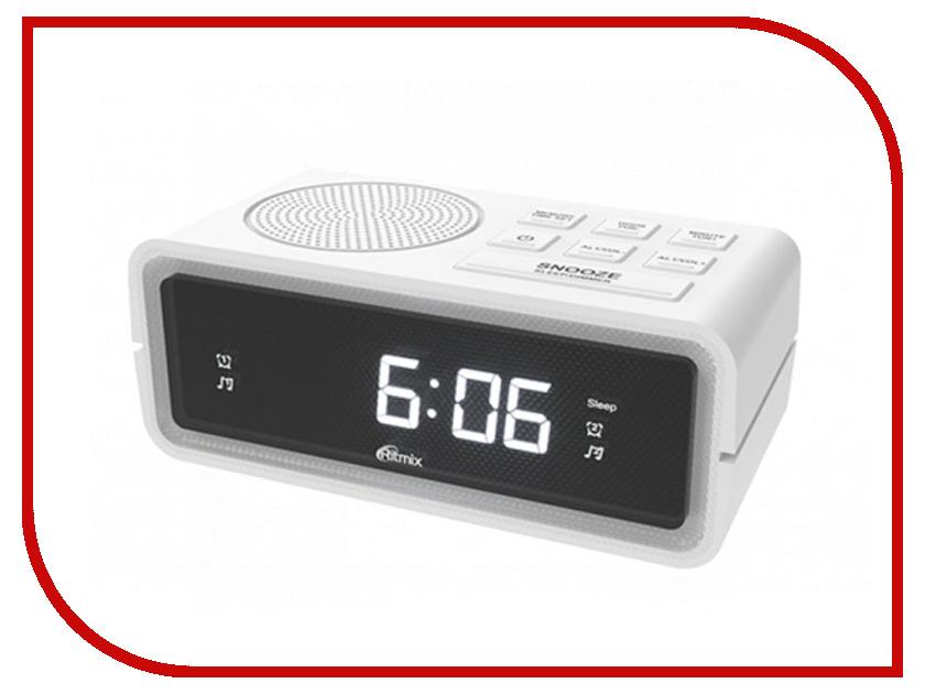 Часы Ritmix RRC-606 White dial ydk 606