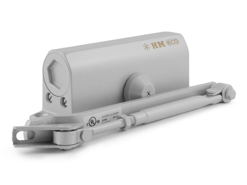 Доводчик дверной Нора-М 520 Eco Grey