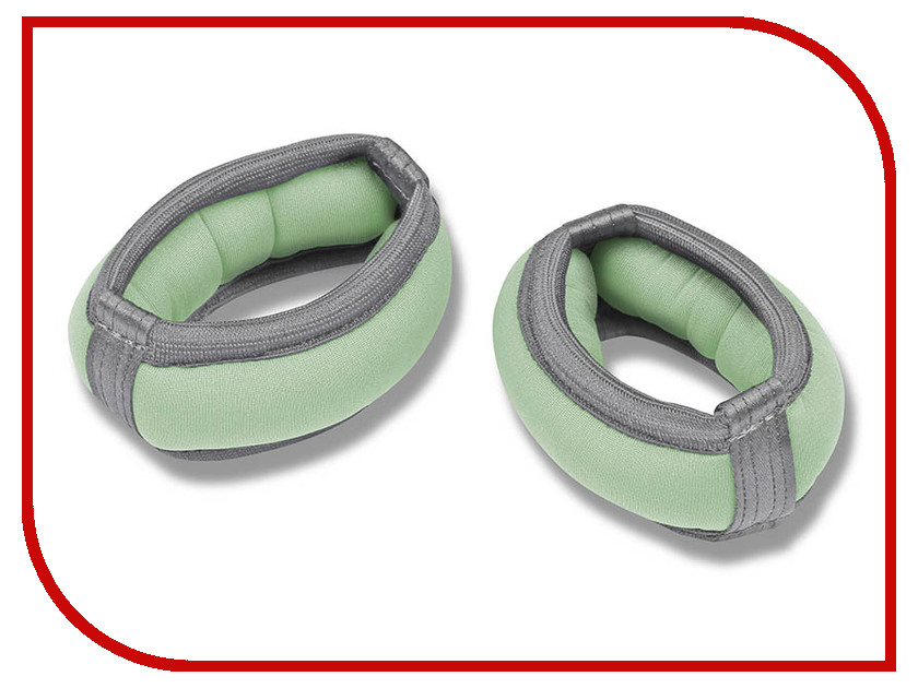 Утяжелитель Indigo SM-147 2x0.1kg Light Green утяжелители браслет indigo sm 147 00026184 сиреневый 2 х 0 1 кг