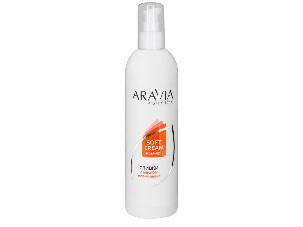 Aravia Professional Сливки для восстановления рН кожи с маслом иланг-иланг 300ml 1026