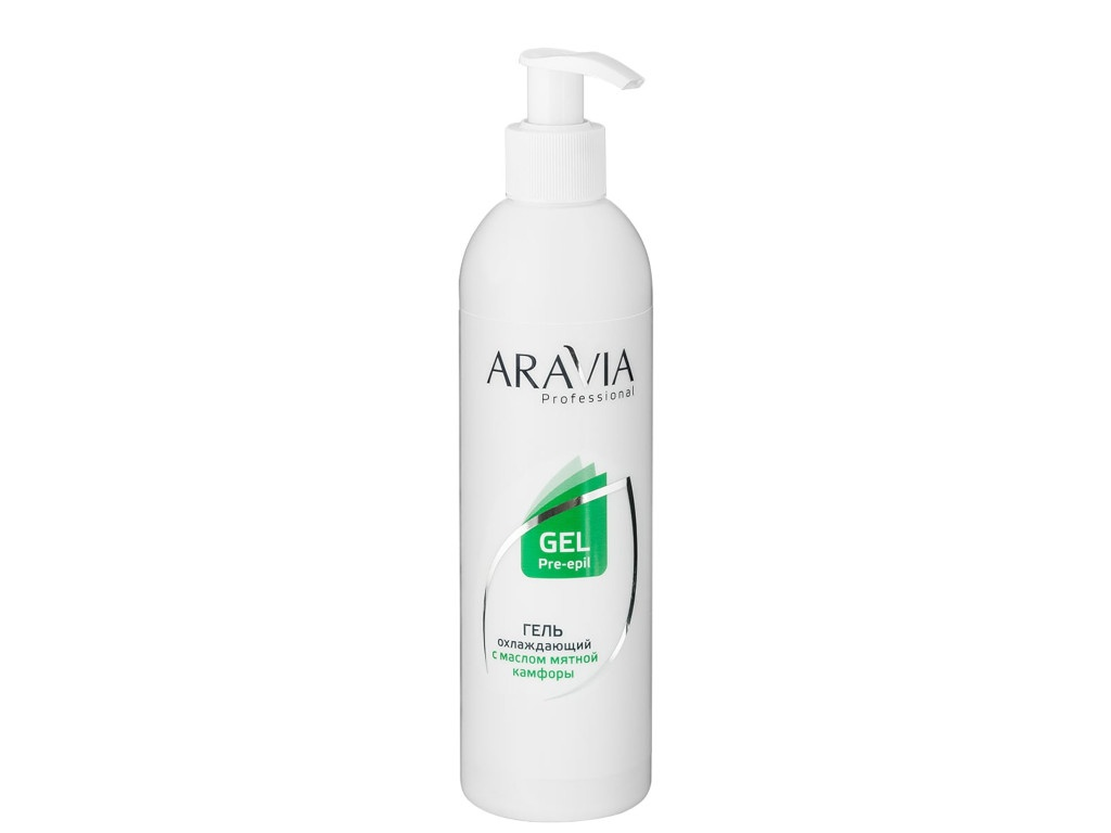 Aravia Professional Гель охлаждающий с маслом мятной камфоры 300ml 1036