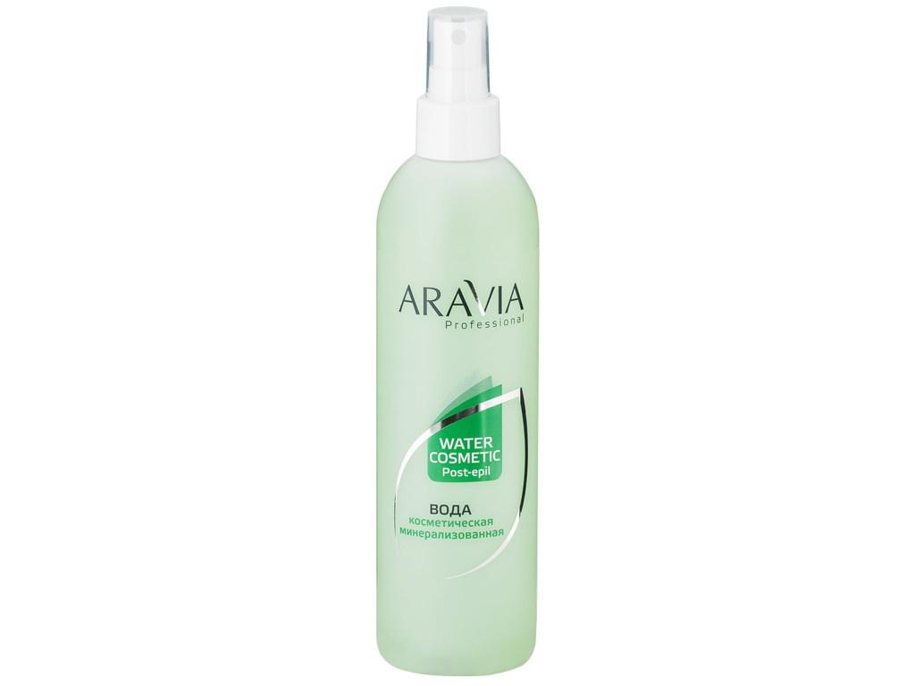Aravia Professional Вода косметическая минерализованная с мятой и витаминами 300ml 1023