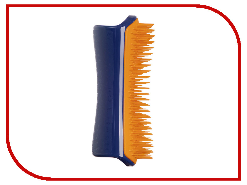Расческа для животных Pet Teezer Detangling Dog Grooming Brush Navy-Orange ROW-DT-NO-010918