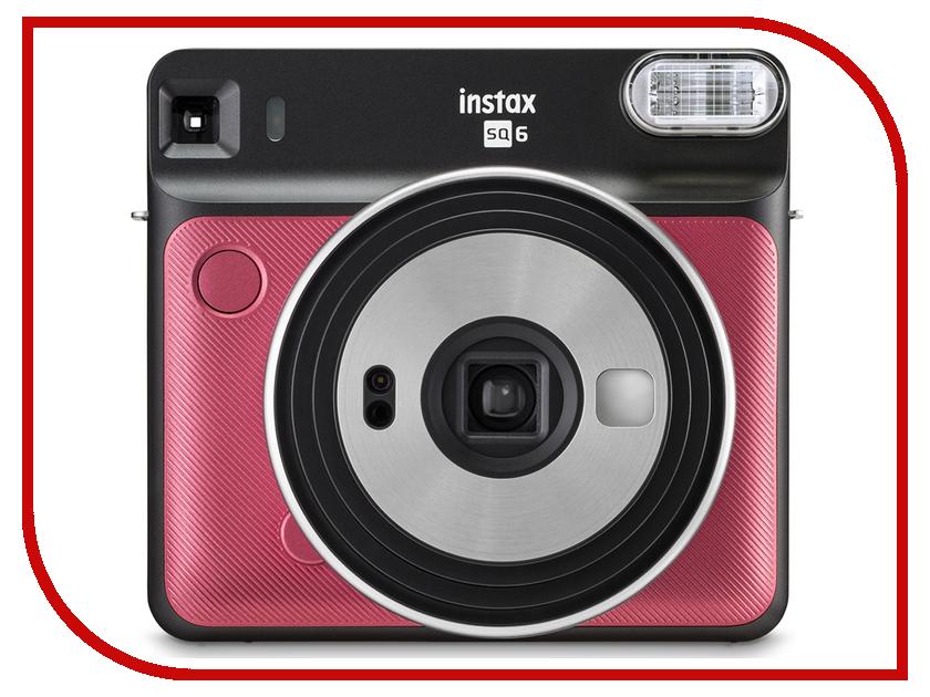 цена на Фотоаппарат Fujifilm Instax Square SQ6 Ruby Red