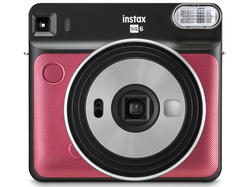 Фото - Фотоаппарат Fujifilm Instax Square SQ6 Ruby Red фотоаппарат