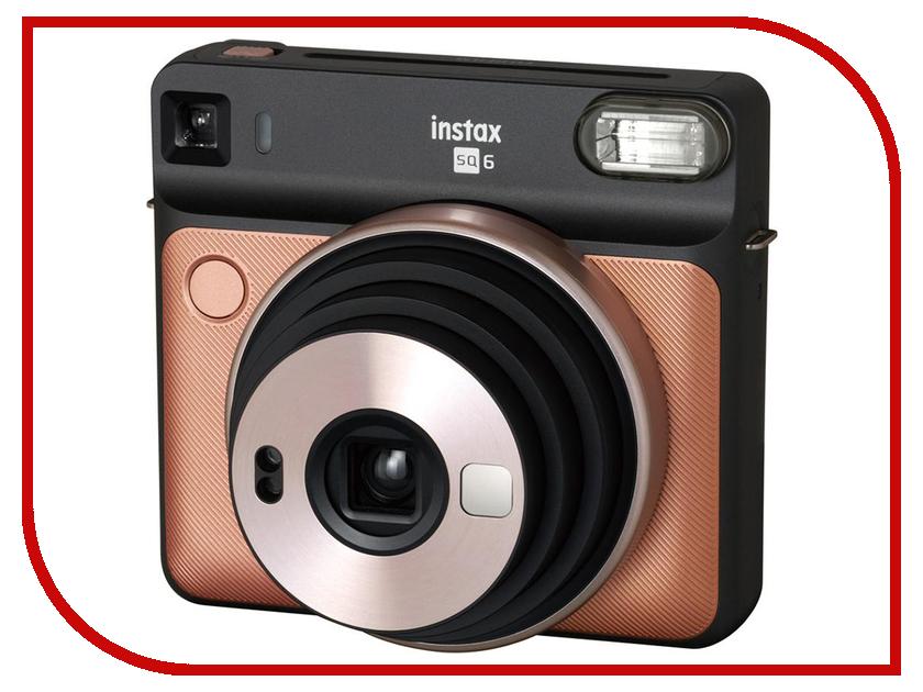 Фотоаппарат Fujifilm Instax Square SQ6 Blush Gold картридж для камеры fujifilm instax square 10 pk