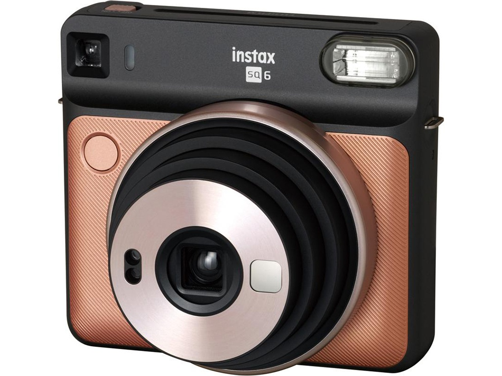 Фото - Фотоаппарат Fujifilm Instax Square SQ6 Blush Gold фотопринтер instax share sp 2 gold ex