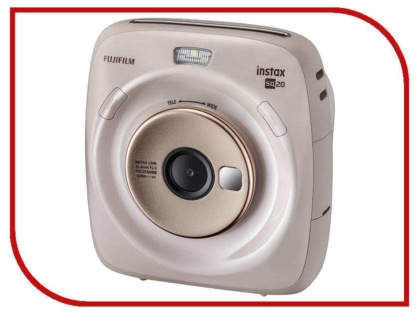 цена на Фотоаппарат Fujifilm Instax Square SQ20 Beige