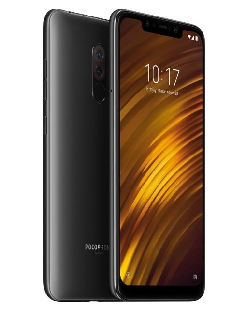 лучшая цена Сотовый телефон Xiaomi Pocophone F1 6/128GB Black