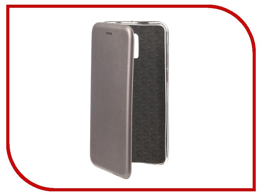 Аксессуар Чехол для BQ BQ-6010G Practic Экокожа, Silicone Dark Grey аксессуар чехол для bq 5007l iron silicone transparent