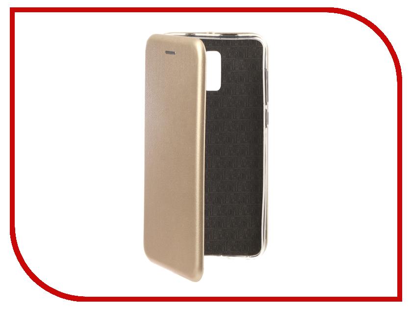 Аксессуар Чехол для BQ BQ-6010G Practic Экокожа, Silicone Gold аксессуар чехол для bq 5007l iron silicone transparent