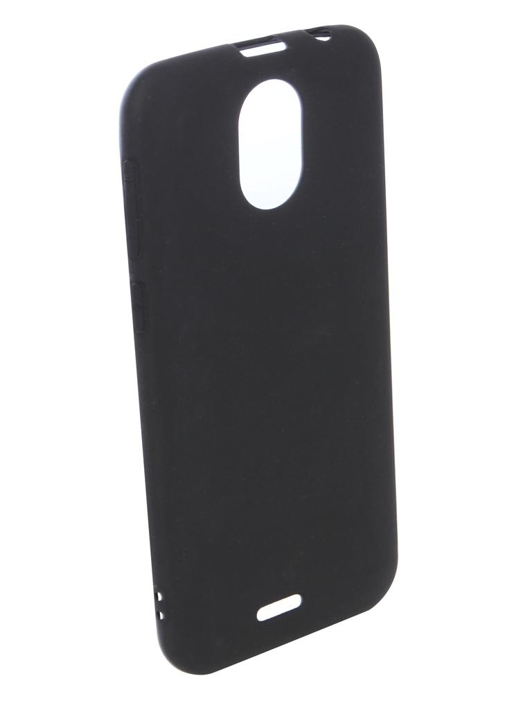 Аксессуар Чехол для BQ BQ-5004G Fox Silicone Black