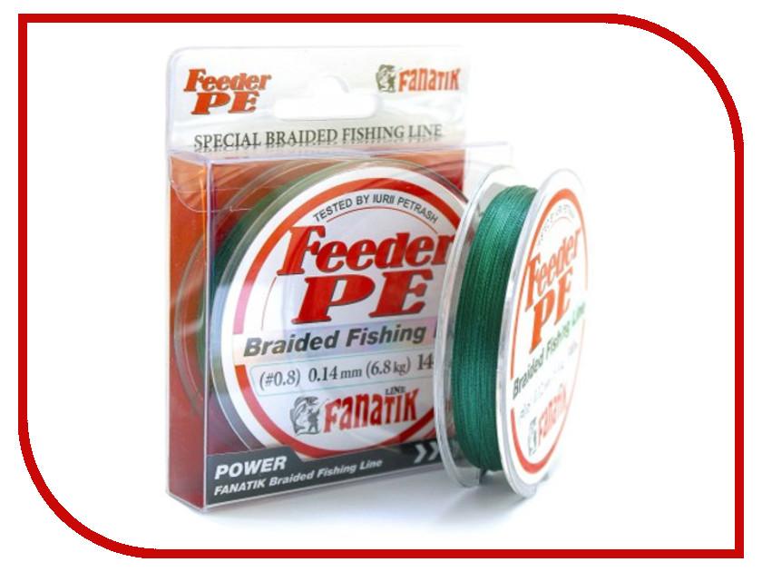 Леска Fanatik Feeder PE X4 (#0,8) 0.14mm 140m Green FPEX414008G 140m f8n c25 ser c used in good condition with free dhl ems