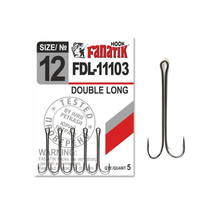 Крючки Fanatik Двойник №12 5шт FDL-11103