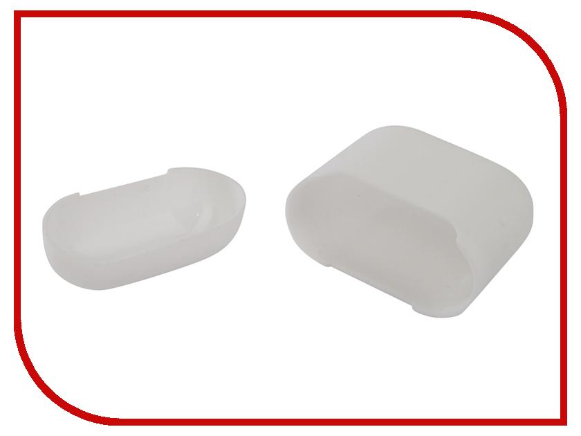 Аксессуар Чехол Gurdini Ultra Slim Silicone для Airpods White 907790 аксессуар чехол gurdini soft touch silicone для apple airpods white 906287
