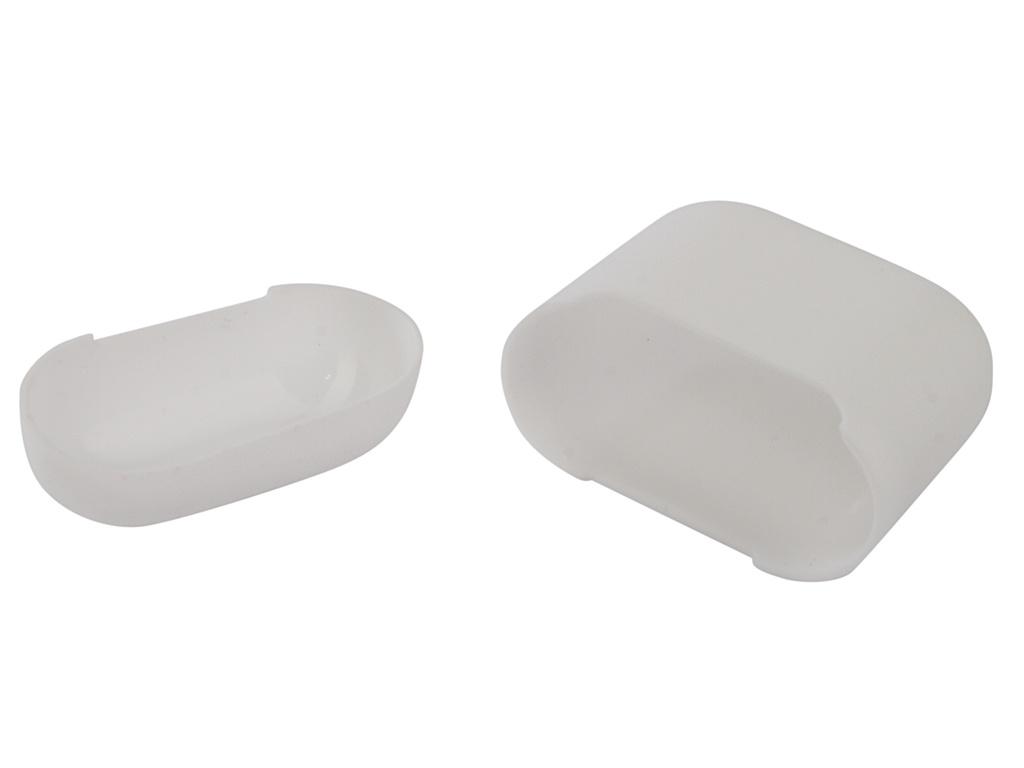 Аксессуар Чехол Gurdini Ultra Slim Silicone для Airpods White 907790