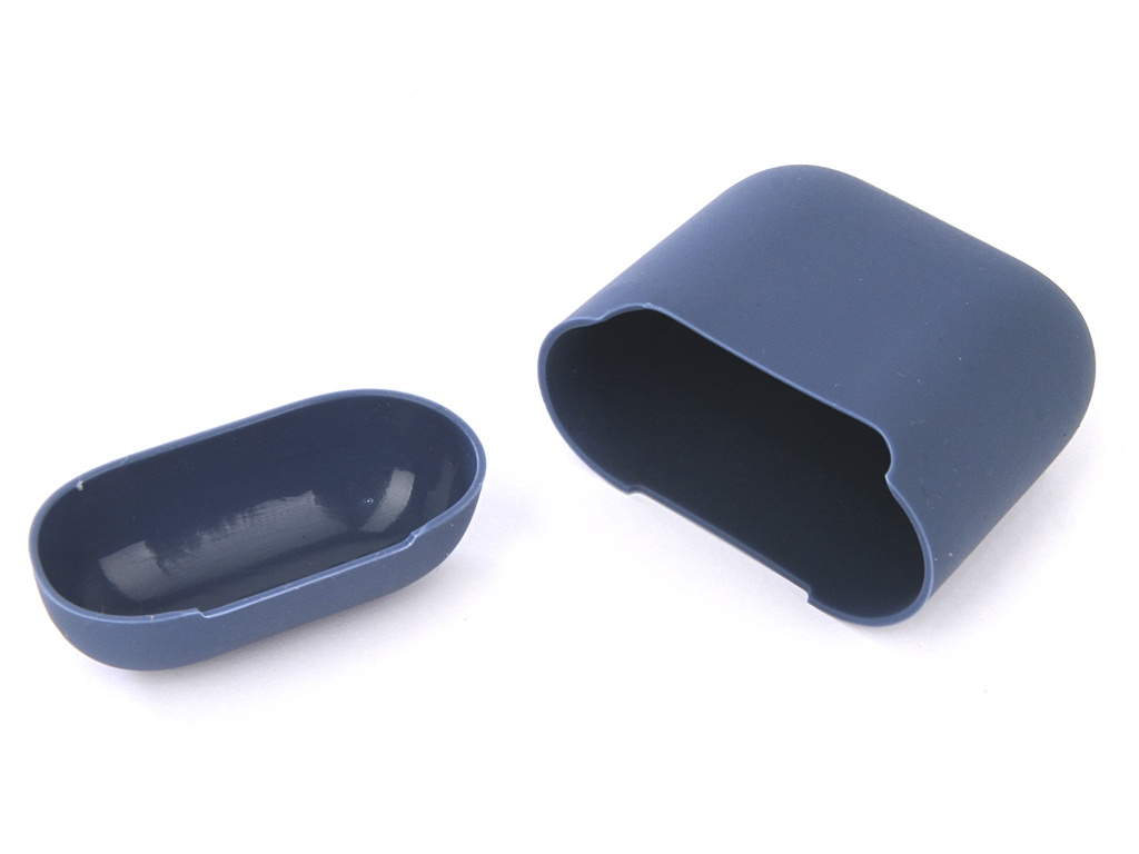 Чехол Gurdini Ultra Slim Silicone для Airpods Blue Horizon 907785