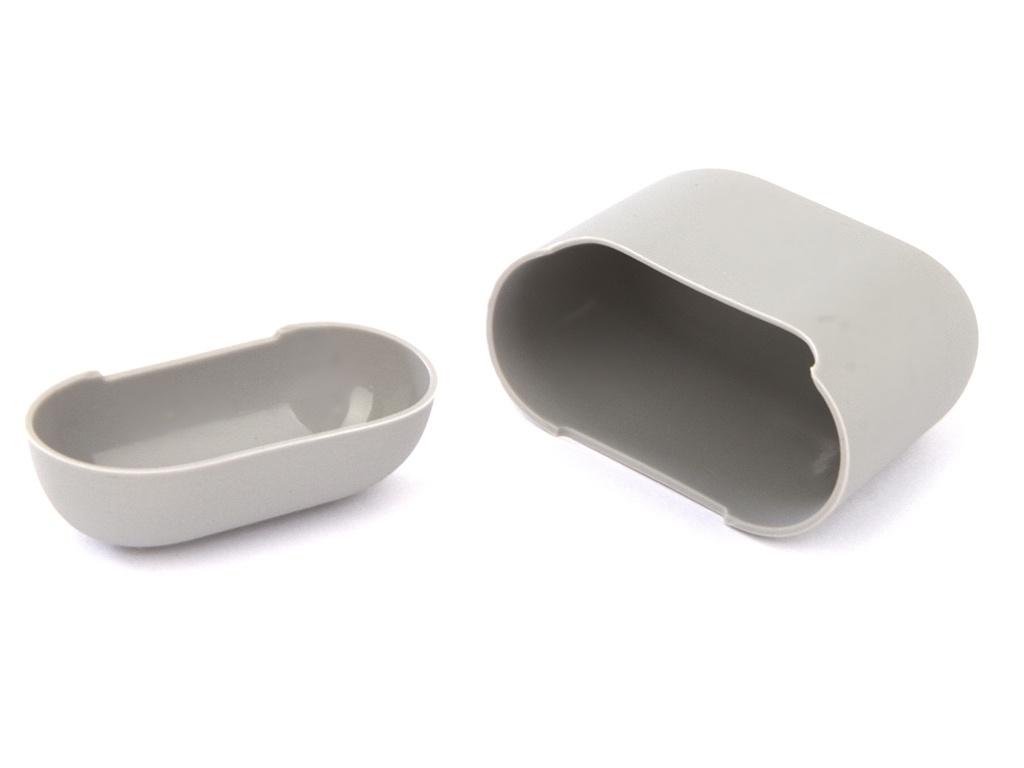Аксессуар Чехол Gurdini Ultra Slim Silicone для Airpods Stone 907783