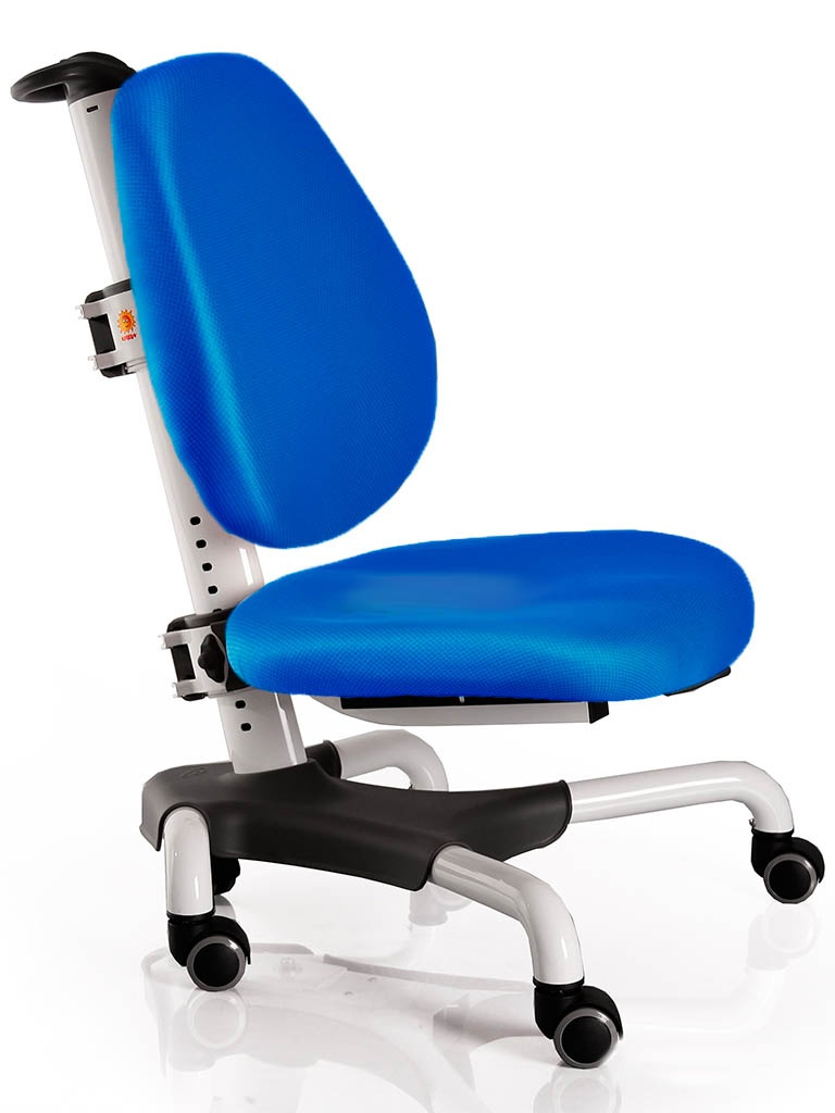 Компьютерное кресло Mealux Nobel White-Blue Y-517 WKB
