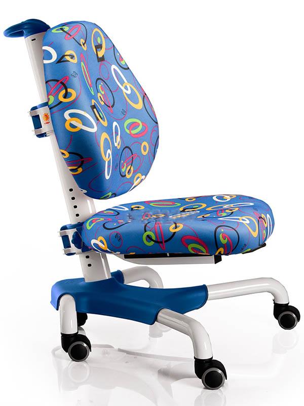 Компьютерное кресло Mealux Nobel White-Blue Rings Y-517 WB
