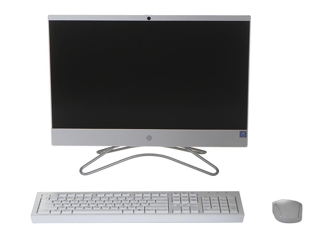 Моноблок HP 200 G3 AiO White 4YW19ES (Intel Pentium Silver J5005 1.5 GHz/4096Mb/128Gb SSD/No ODD/UHD Graphics 605/Wi-Fi/Bluetooth/Cam/21.5/1920x1080/DOS)