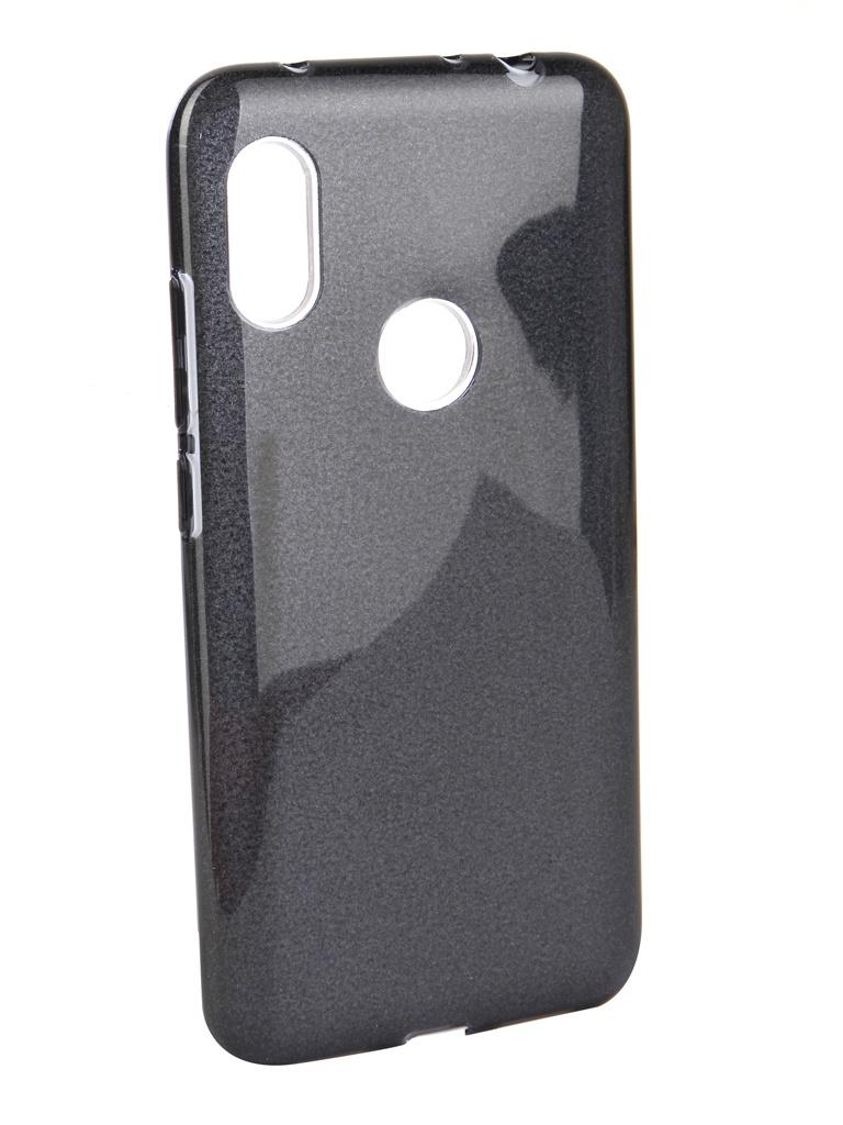 Аксессуар Чехол Neypo для Xiaomi Redmi Note 6/6 Pro Brilliant Silicone Black Crystals NBRL6382