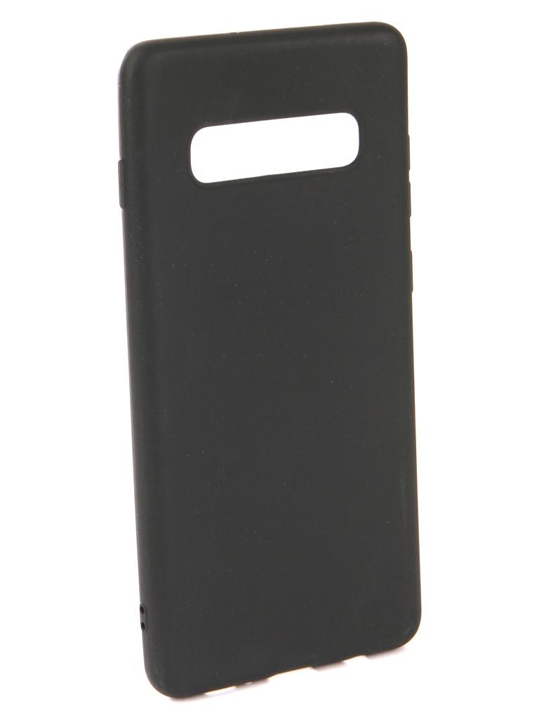 Аксессуар Чехол Neypo для Samsung Galaxy S10 Plus Soft Matte Silicone Black NST6578 аксессуар чехол neypo для samsung galaxy s10 lite soft matte silicone dark blue nst7207
