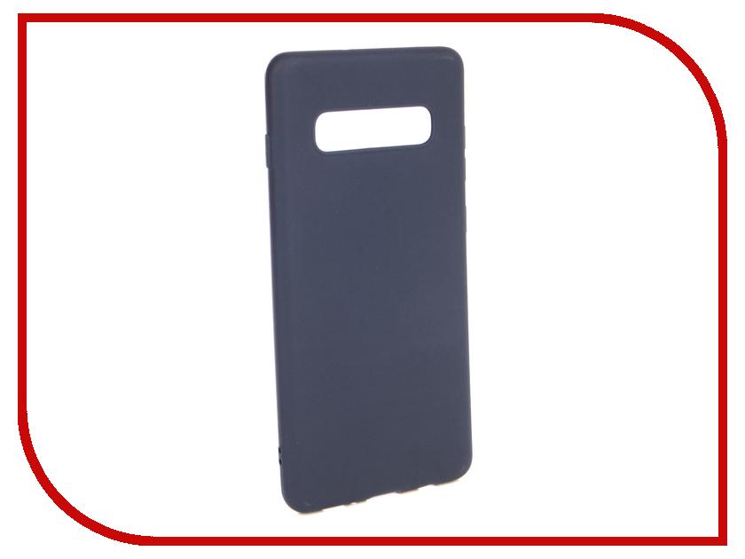 Аксессуар Чехол для Samsung Galaxy S10 Plus Neypo Soft Matte Silicone Dark Blue NST7203