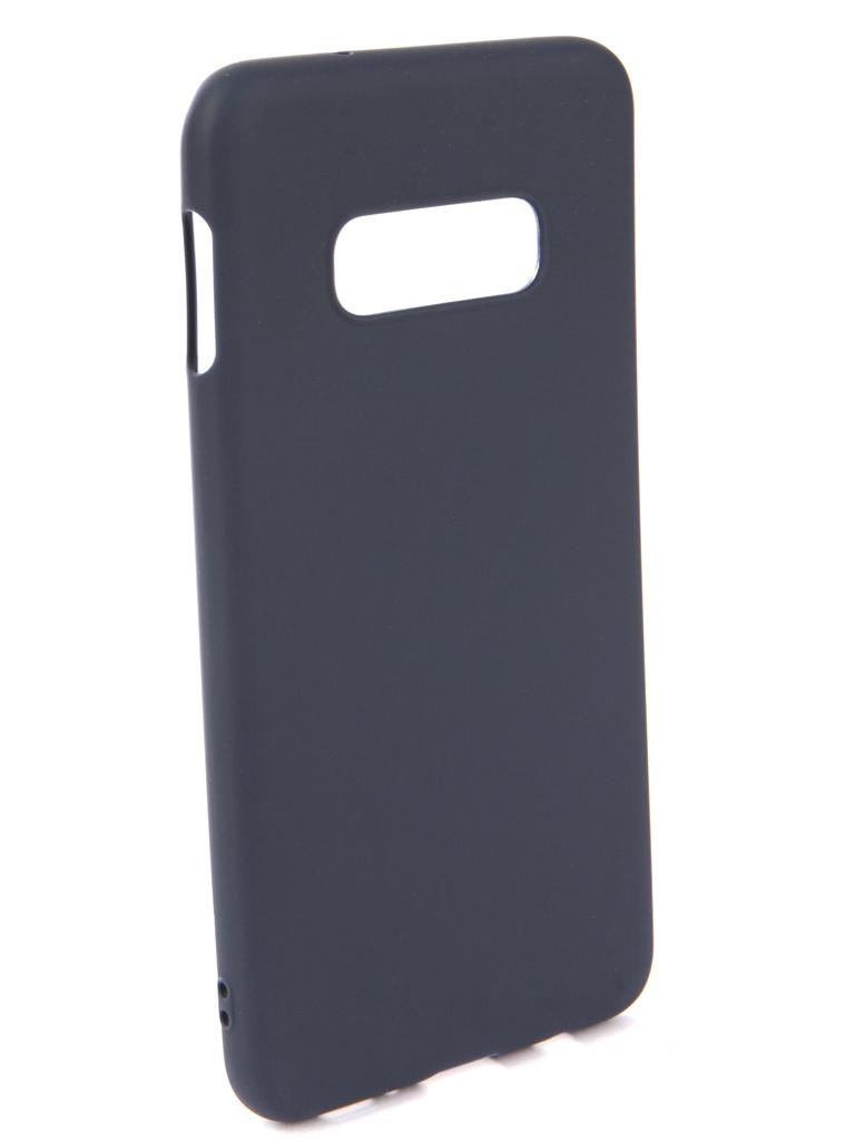 Аксессуар Чехол Neypo для Samsung Galaxy S10 Lite Soft Matte Silicone Dark Blue NST7207