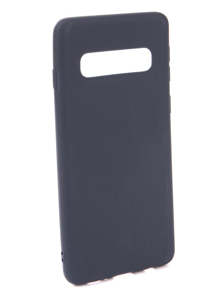 Аксессуар Чехол Neypo для Samsung Galaxy S10 Soft Matte Silicone Dark Blue NST7200