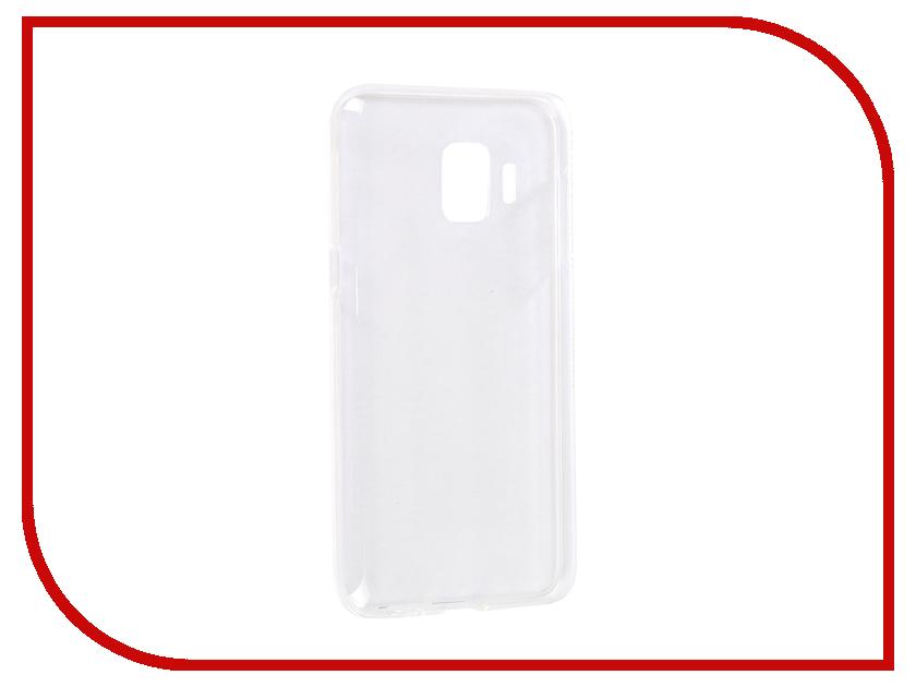 Аксессуар Чехол для Samsung Galaxy J2 Core Neypo Silicone Transparent NST6667 аксессуар чехол накладка для samsung galaxy j2 2018 gurdini high tech silicone transparent 905900