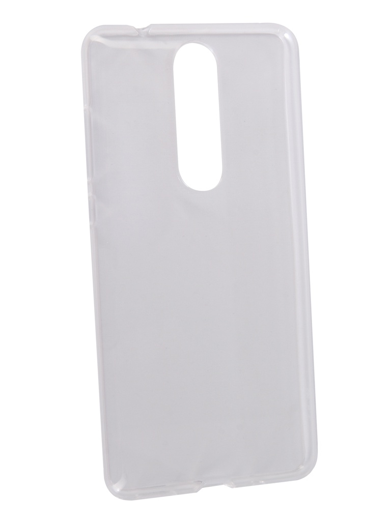 Аксессуар Чехол Neypo для Nokia 5.1 Silicone Transparent NST4397