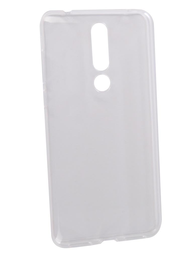 Аксессуар Чехол Neypo для Nokia 3.1 Plus Silicone Transparent NST6133