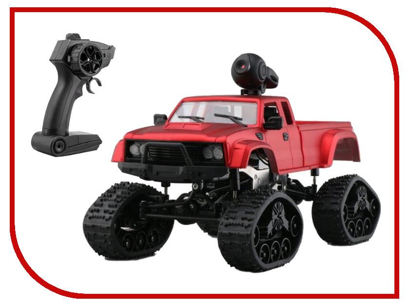 Игрушка Aosenma Rock Crawler 4WD 1:16 Red с wifi камерой FY002BW 4wd metal tank intelligent crawler robotic chassis for rc robot car 210x140x75mm