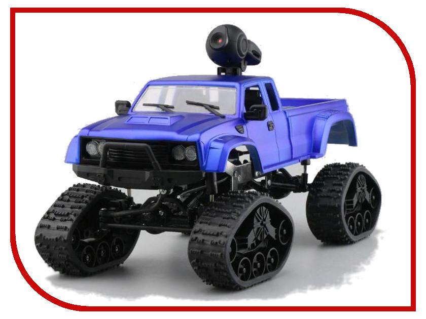 цена Игрушка Aosenma Rock Crawler 4WD 1:16 Blue с wifi камерой FY002BW