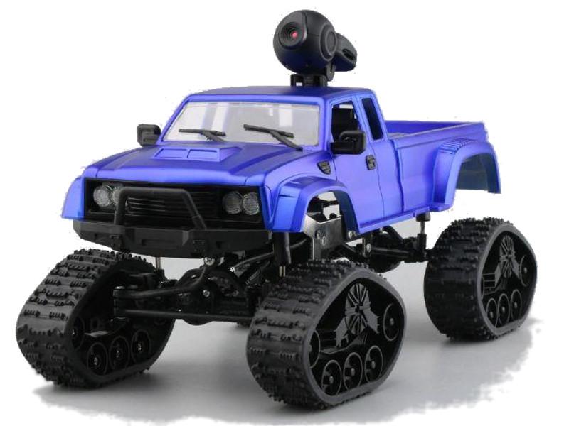 Игрушка Aosenma Rock Crawler 4WD 1:16 Blue с wifi камерой FY002BW игрушка aosenma offroad truck 4wd 1 16 green wplb 24