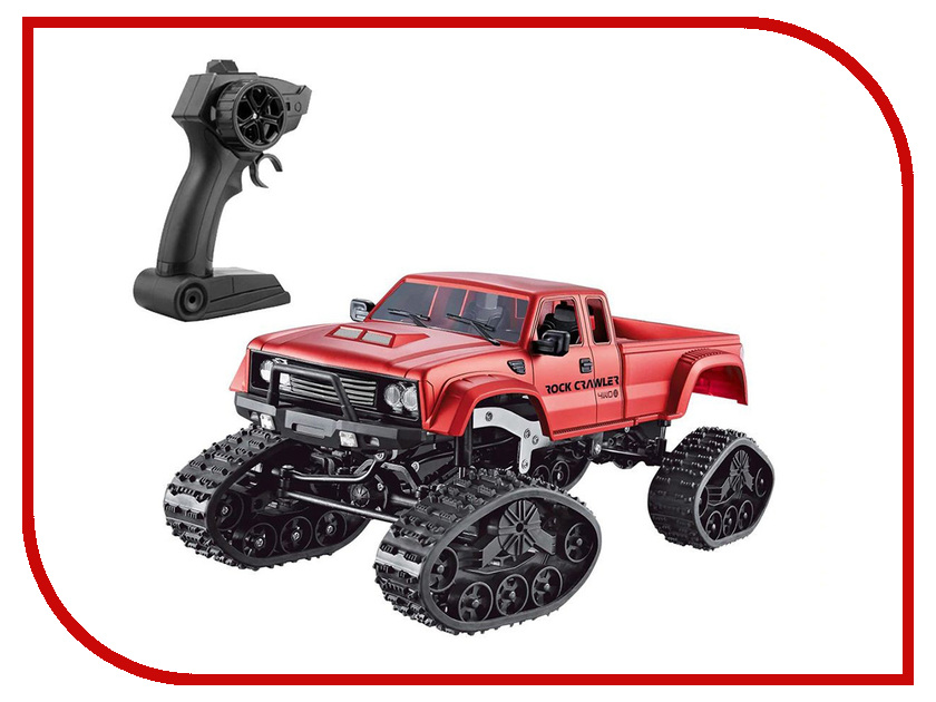 Игрушка Aosenma Rock Crawler 4WD 1:16 Red FY002B rc rock crawler 1 10 accessories fire extinguisher for axial wraith scx10 90046 tamiya cc01 rc4wd d90 d110 traxxas trx 4