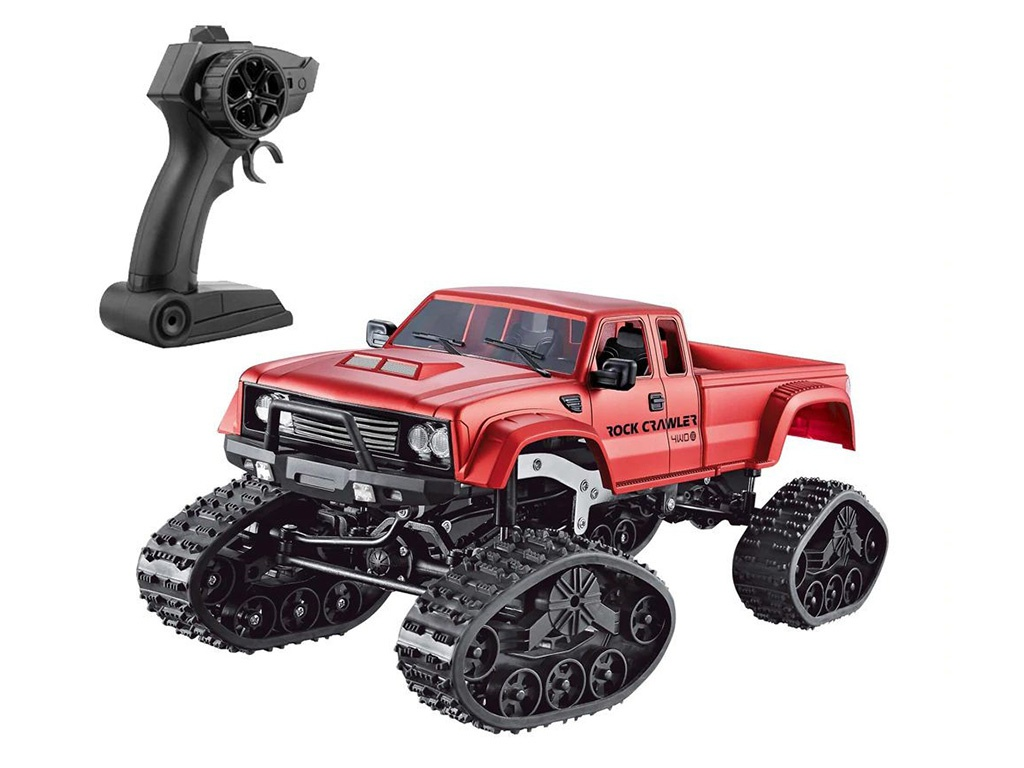 Игрушка Aosenma Rock Crawler 4WD 1:16 Red FY002B 1 set great aluminum rock crawler chassis for 1 10 scx10 scx 10 land rover d90 free shipping