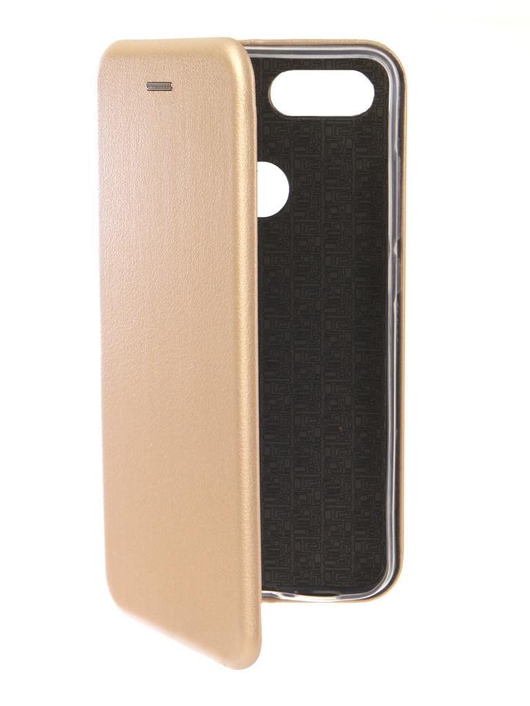 Аксессуар Чехол Neypo для Xiaomi Mi 8 Lite Premium Gold NSB6677
