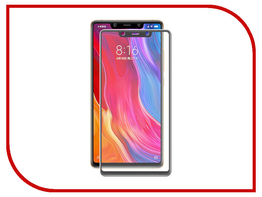 Аксессуар Защитное стекло для Xiaomi Mi8 SE Neypo Full Glue Glass Black Frame NFGL4834 аксессуар защитное стекло для samsung galaxy j2 2018 neypo full screen glass white frame nfg3963