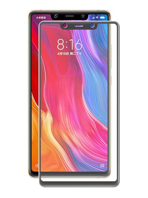 Аксессуар Защитное стекло Neypo для Xiaomi Mi8 SE Full Glue Glass Black Frame NFGL4834 защитное стекло для xiaomi mi8 se caseguru full glue изогнутое по форме дисплея с черной рамкой