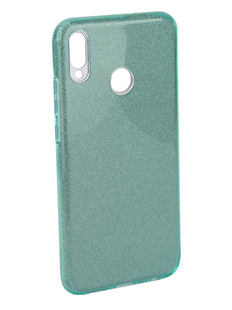 Чехол Neypo для Honor 8X Brilliant Silicone Turquoise Crystals NBRL6362
